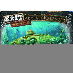 Adventskalender Exit - Das gesunkene U-Boot, bunt - bunt