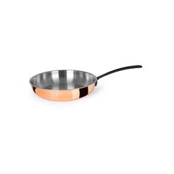 CHEFKOCH Bratpfanne CH-6682, Chefkoch® verkupfertes Kochtopfset, 4tlg