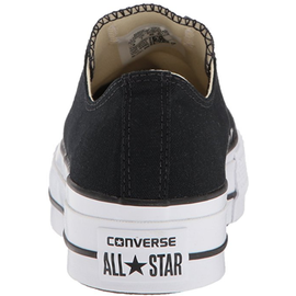 Converse Chuck Taylor All Star Platform Low Top black/black/white 38