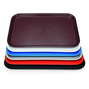 Tablett, Gastromormtablett, GN 1/1, Kunststoff, Farben wählbar, 53x32,5 cm - stapelbar und XTRA PREISWERT/Abmessung GN 1/1: 53 x 32,5 cm (Braun)