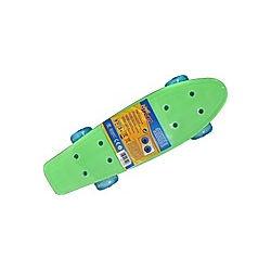 New Sports Mini Skateboard mit LED  41 5 x 12 cm