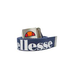 Ellesse Ledergürtel Herren Stoff-Gürtel - Gurtband, Logo Print, blau