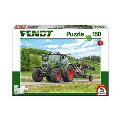 Schmidt Spiele Puzzle Puzzle 150 Teile Fendt 211 Vario mit Fendt Wender, Puzzleteile