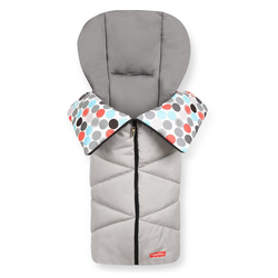 Fisher-Price® Fußsack Grey, Winter - Fußsack Baby für Buggy und Kinderwagen