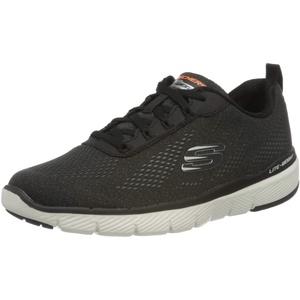 Skechers Herren Flex Advantage 3.0-232059 Sneaker, Schwarz (Black Mesh/Trim Blk), 44 EU (9.5 UK)