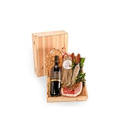 Gourmet in der Holzkiste-Geschenke