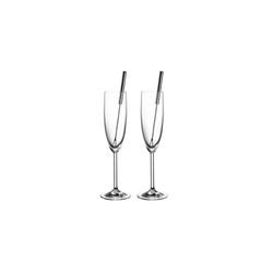 Glas Koch Sektgläser+Fruchtspieße im 2er Set, 4,7 cm