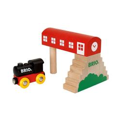 BRIO® Spielzeug-Eisenbahn BRIO Classic Bahnhof
