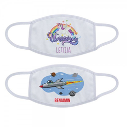 Mund-Nasen Maske / Gesichtsmaske für Kinder in zwei Größen