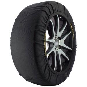 Goodyear Schneeketten Textil Ultra Grip L, (2-tlg) schwarz Größe L