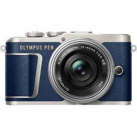 Olympus E-PL9 blau + 14-42 mm EZ silber