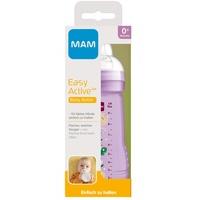 MAM Babyflasche Weithalsflasche Easy Active Baby Bottle - Häschen, lila