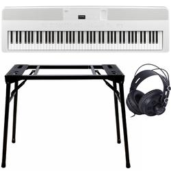 Kawai ES-520 Weiß + Keyboard-ständer (DPS-10) & Kopfhörer
