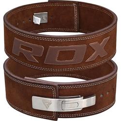 RDX 4L 10mm Gewichthebergürtel (Größe: M, Farbe: Braun)