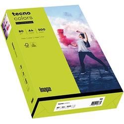 tecno Kopierpapier colors leuchtend grün DIN A4 80 g/qm 500 Blatt