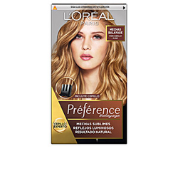 PREFERENCE MECHAS SUBLIMES #002-dark to light blonde