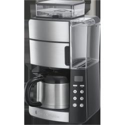Russell Hobbs Grind&Brew Thermo-Kaffeemaschine, mit Mahlwerk und Thermoskanne, 25620-56