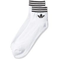 adidas Herren Socken 3 Paar Trefoil Ankle White/Black, 43-46,