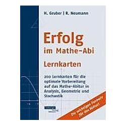 Erfolg im Mathe-Abi  Lernkarten: Lernkarten