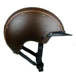 Reithelm Champ-3, S, 52?56 cm, braun