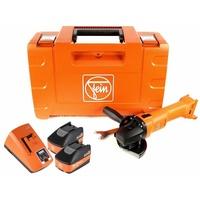 Fein CCG 18-125 BL inkl. 2 x 5,2 Ah + Schnellladegerät + Koffer