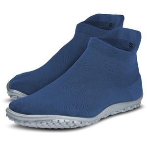 Leguano Barfußschuh SNEAKER Sneaker für Maschinenwäsche geeignet blau M (40/41)