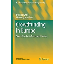 Crowdfunding in Europe - Buch