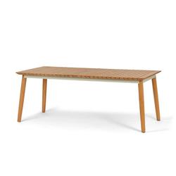 Ausziehbarer Teak-Gartentisch, 200/240 cm