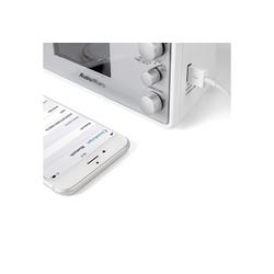 AudioAffairs Radiowecker Radiowecker (UKW/FM PLL, UKW Radio mit USB Anschluss, Uhrenradio mit LC Display)
