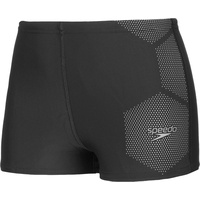 Speedo Tech Placement Wassershorts Jungen black/ardesia 176 | UK 34 2021 Schwimmslips & -shorts