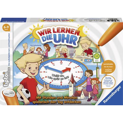 Ravensburger Wir lernen die Uhr tiptoi® Wir lernen die Uhr 00847