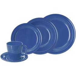 WACA Kombiservice, (Set, 10 tlg.) blau Geschirr-Sets Geschirr, Porzellan Tischaccessoires Haushaltswaren Kombiservice