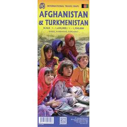 Afghanistan & Turkmenistan 1:1 650 000