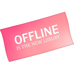Minions Badetuch Offline is the new luxury (1-St), mit lustigem Spruch
