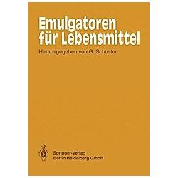 Emulgatoren für Lebensmittel - Buch