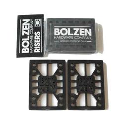 "Bolzen Hardware Riser Pads Hartgummi 1/2"""