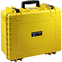 B & W Outdoor Koffer outdoor.cases Typ 6000 32.6l (B x H x T) 510 x 420 x 215mm Gelb 6000/Y/SI