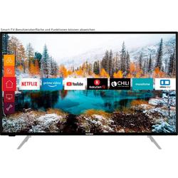 Telefunken D43V800M4CWH LED-Fernseher (108 cm/43 Zoll, 4K Ultra HD, Smart-TV, 36 Monaten Herstellerlangzeitgarantie)