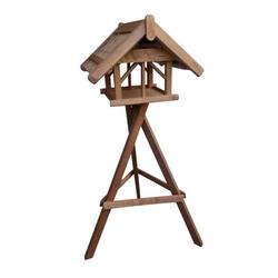 Vogelhaus Nr.41 mit Ständer 60x70x50cm, Reetdach