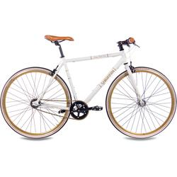 Chrisson Urbanbike Vintage Road N3, 3 Gang Shimano Nabenschaltung (1-tlg.) weiß Crossräder Fahrräder Zubehör Fahrrad