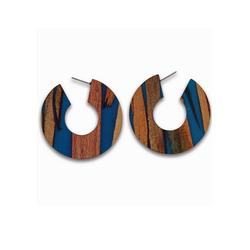 J.Jayz Paar Creolen rund, breites Design