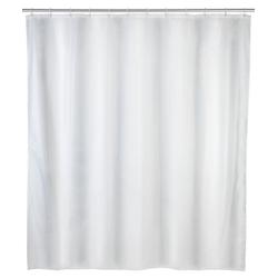 Duschvorhang UNI weiß (BH 180x200 cm) Wenko