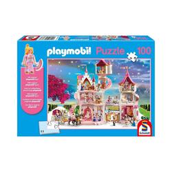 Schmidt Spiele Puzzle Puzzle PLAYMOBIL® inkl. Playmobil-Figur,, Puzzleteile