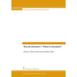Was ist Literatur? / What is Literature?: eBook von
