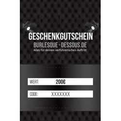 200  Gutschein per Post