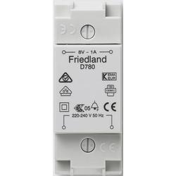 Friedland D780 Klingel-Transformator 8 V/AC 1A