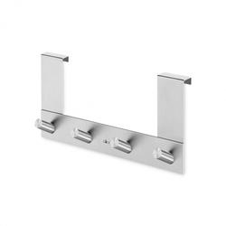 ZACK Türhakenleiste EXIT für Falzstärke ab 1,6-1,9 cm AUSSEN Edelstahl mattiert