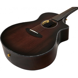 Breedlove Oregon Concert Black Cherry CE LTD - Westerngitarre