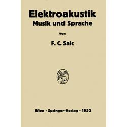 Elektroakustik als Buch von Friedrich C. Saic