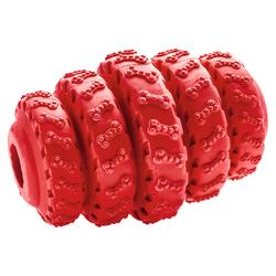Hunter Hundespielzeug Talvik Reifen rot, Größe: M